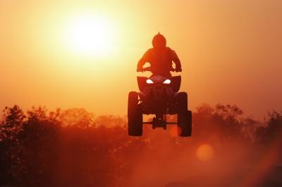 Stunt rider image