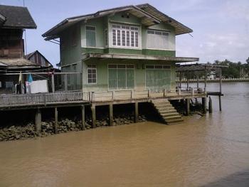 Thailand Raft House Image