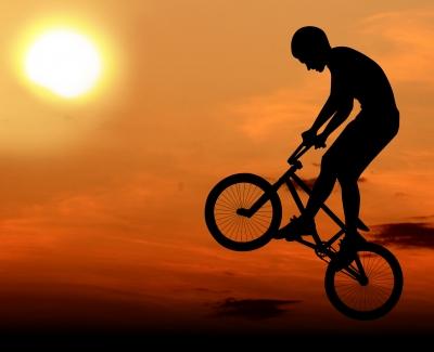 BMX boy image