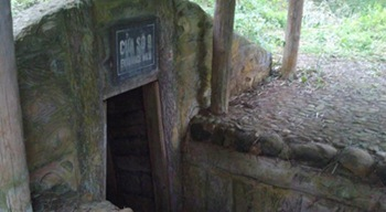 DMZ tunnel entrance