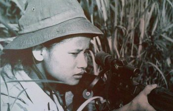 Vietcong fighter girl Image