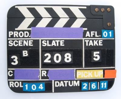 Clapper board image