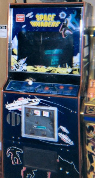 Space Invaders Machine Image