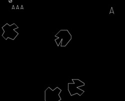Asteroids screenshot 2