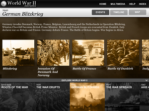 Screenshot of WWII app icon