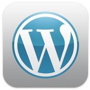 Wordpress app icon picture