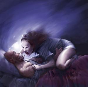 Sleep Paralysis Succubus
