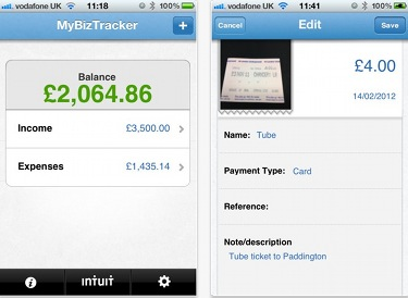 MyBizTracker Screenshot