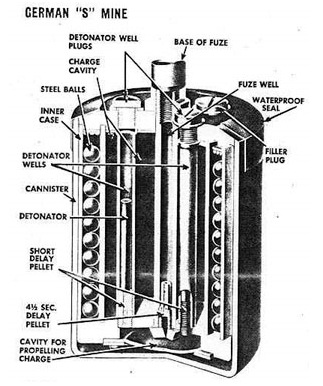 Bouncing Betty internal Diagram Image
