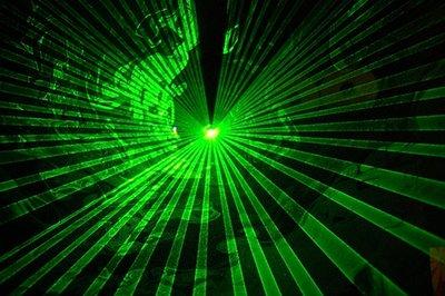 Laser Light Image