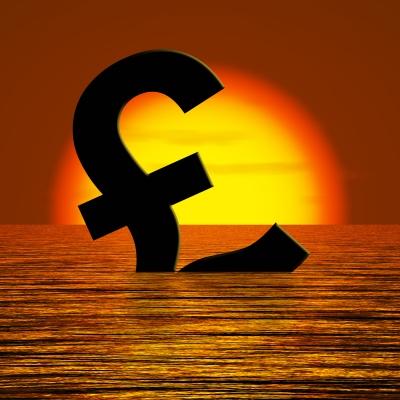 Sinking Pound Image