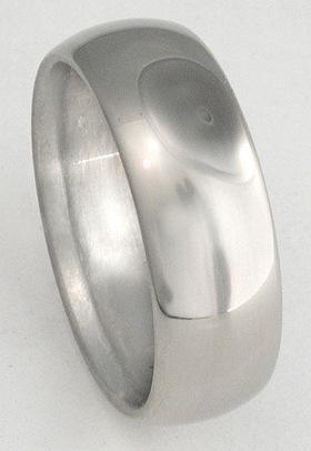 Titanium ring image