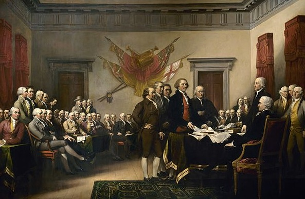 American Revolution Painting Image