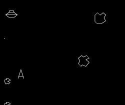 Asteroids screenshot image