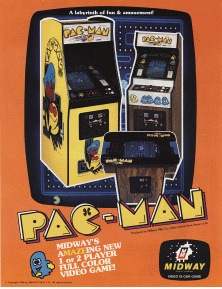 Pac Man machine